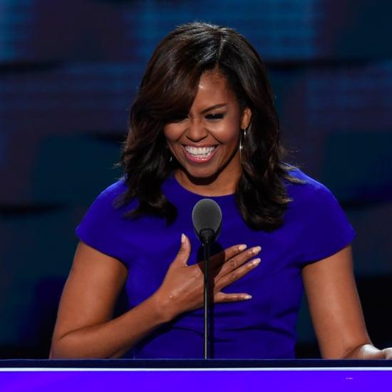 Michelle Obama's Christian Siriano DNC Dress 2016