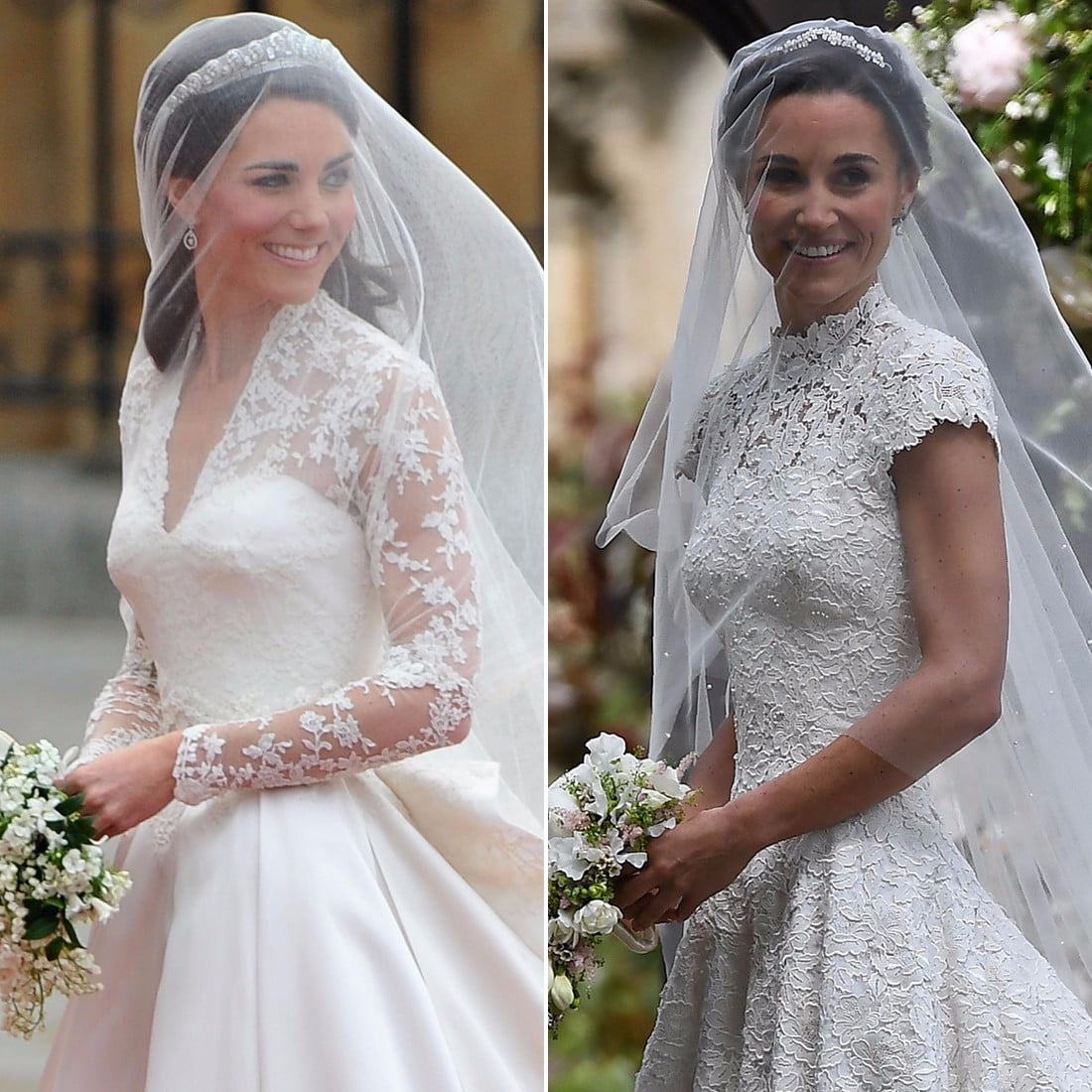 Kate Middleton and Pippa Middleton Wedding Pictures | POPSUGAR Celebrity