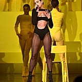 Dua Lipa Wore a Mugler Bodysuit For Her MTV EMAs Performance