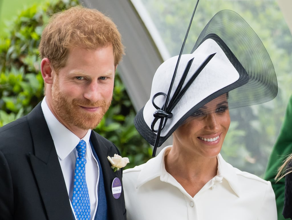 Prince Harry and Meghan Markle at the Royal Ascot in 2018