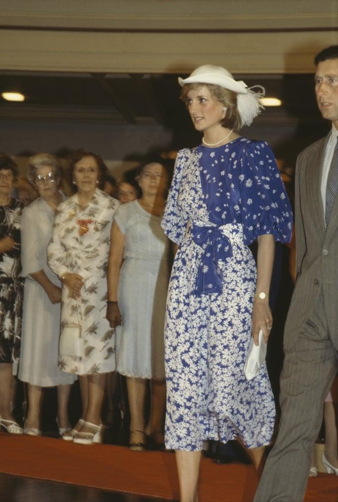 Princess Diana's Blue Dress