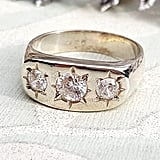 Etsy Vintage Sterling Silver Gypsy Ring