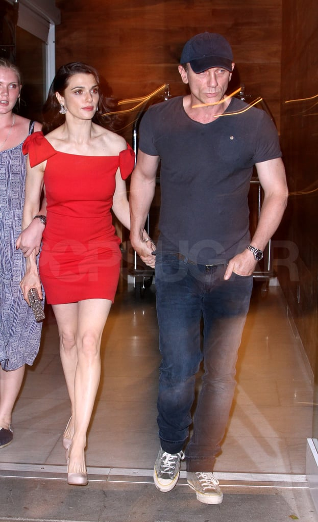 Rachel Weisz with husband Daniel Craig.