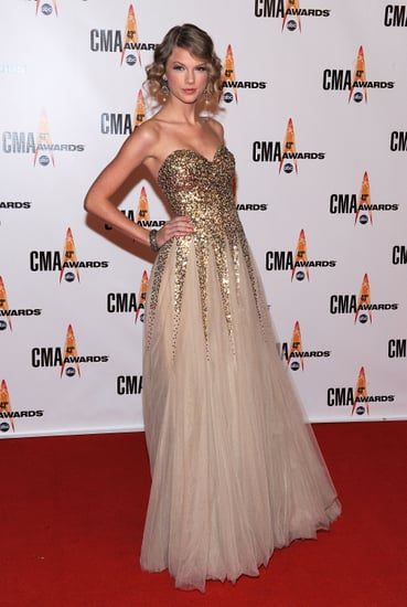 Taylor Swift's dress for the 43rd annual cma awards