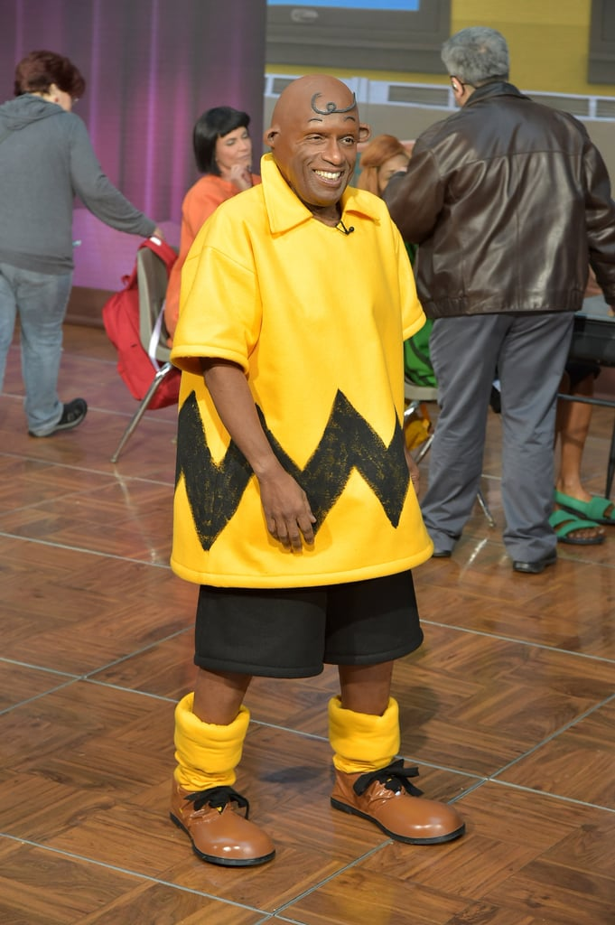 al roker as charlie brown the today show peanuts