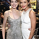 Anne Hathaway and Emily Blunt