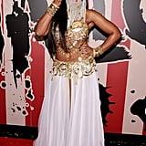 Ashanti as a Belly Dancer
