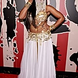 Ashanti attended Heidi Klum's Halloween party as a sexy belly dancer in 2014.      Related:                                                                                                           66 DIY Harry Potter Halloween Costumes For the Wizards at Heart