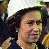 Queen Elizabeth II tours Luxembourg in 1975