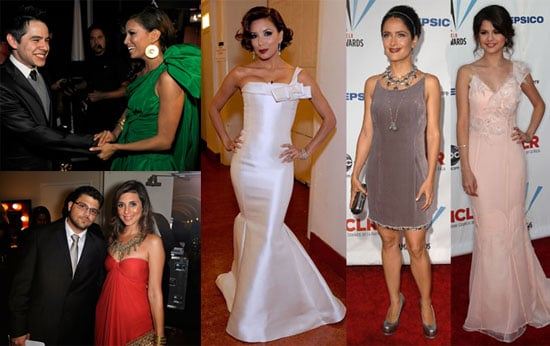 Photos of Red Carpet, Stage, Press Room at 2009 ALMA Awards, Salma Hayek, Eva Longoria, Selena Gomez 2009-09-18 06:00:00