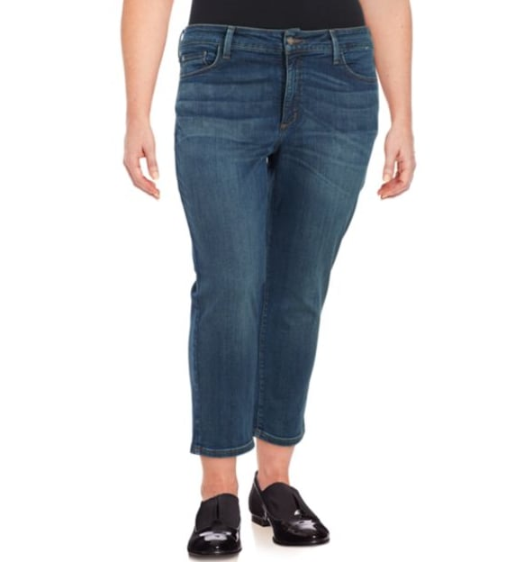 NYDJ Cropped Denim Jeans