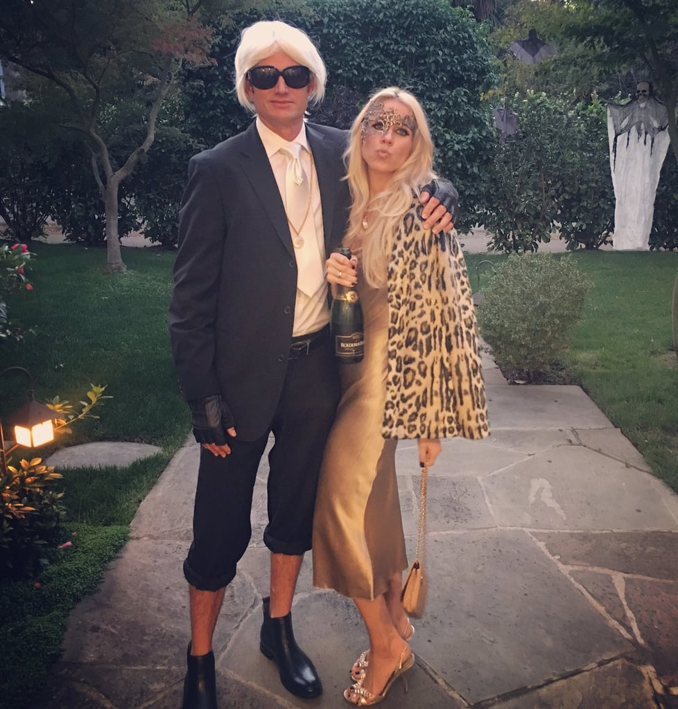 Karl Lagerfeld And Kate Moss Homemade Halloween Couples Costumes