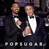Abgebildet: Sylvester Stallone and Michael B. Jordan