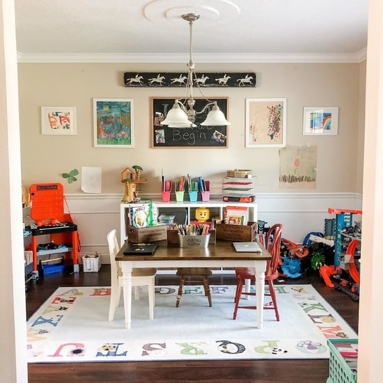Photos of At-Home Virtual Learning and Homeschooling Spaces