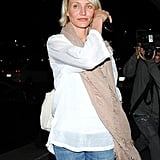 Cameron Diaz looked gorgeous as she arrived at LAX.