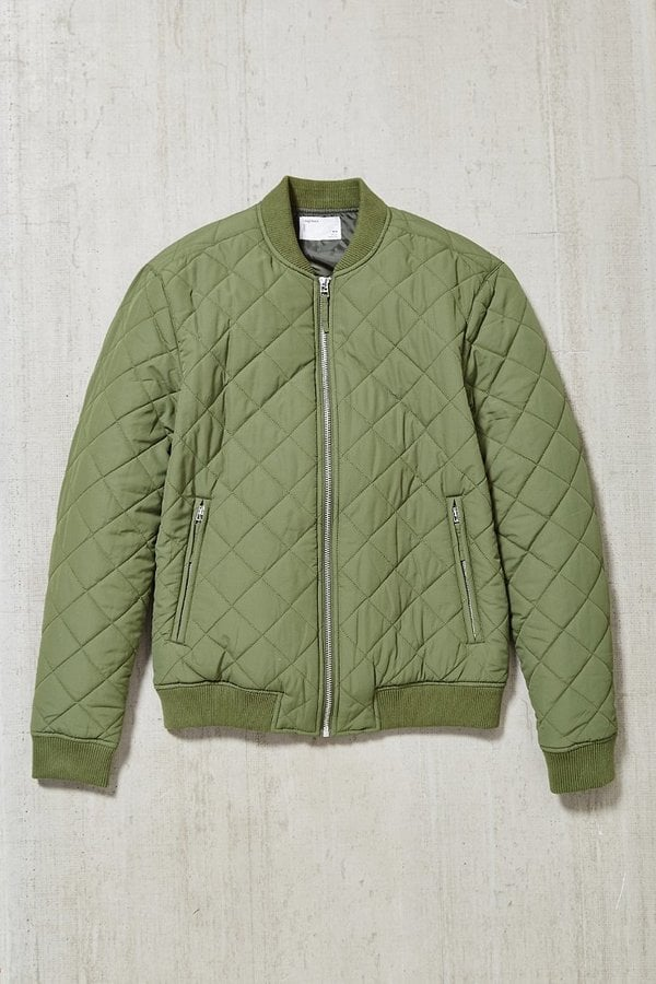 A Light and On-Trend Bomber Jacket