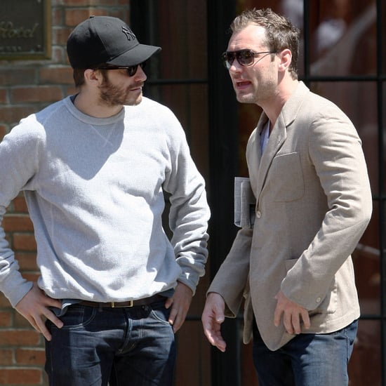 Jake Gyllenhaal and Jude Law Together in NYC