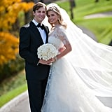 "Opting for sleeves before Kate Middleton set the trend, Ivanka Trump said ""I do"" to Jared Kushner in Vera Wang at her October 2009 wedding."