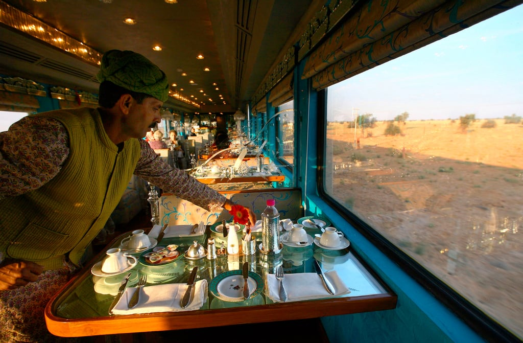 India royal rajasthan on wheels national geographic for Best train vacations in the world