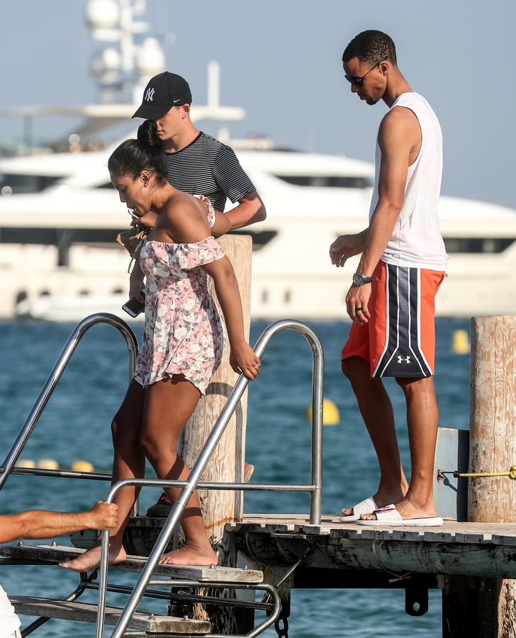 Stephen Curry And Ayesha Curry Interview: Ayesha And Stephen Curry In St. Tropez July 2016