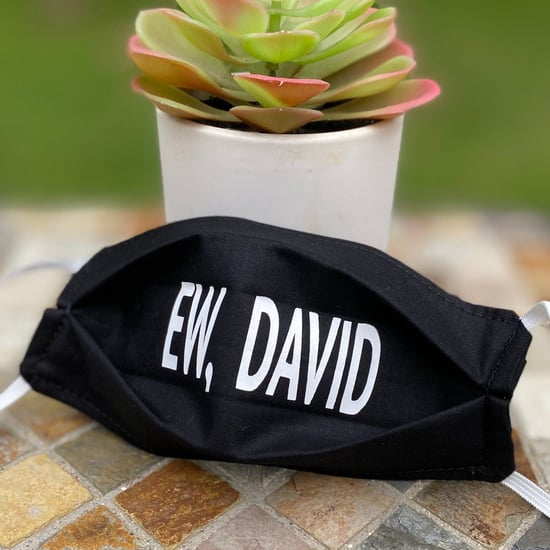 Ew David Schitt's Creek Face Mask on Etsy