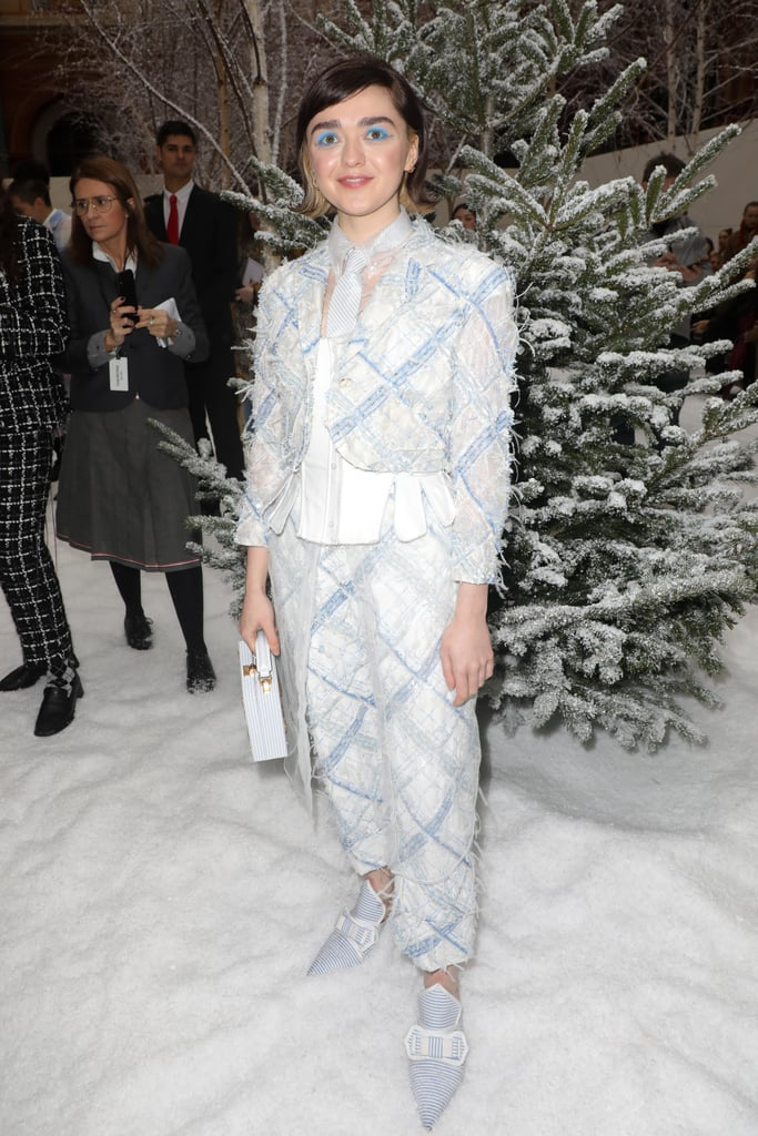 Maisie Williams at the Thom Browne Fall 2020 Show