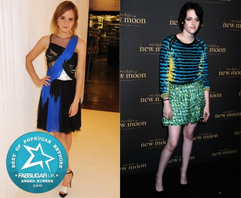Photos of Emma Watson and Kristen Stewart on the Red Carpet in 2009