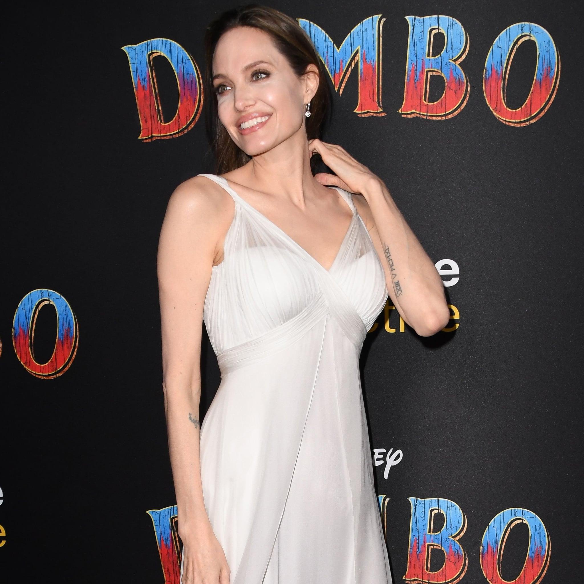 742b67358a7 Angelina Jolie Dress at Dumbo Premiere 2019