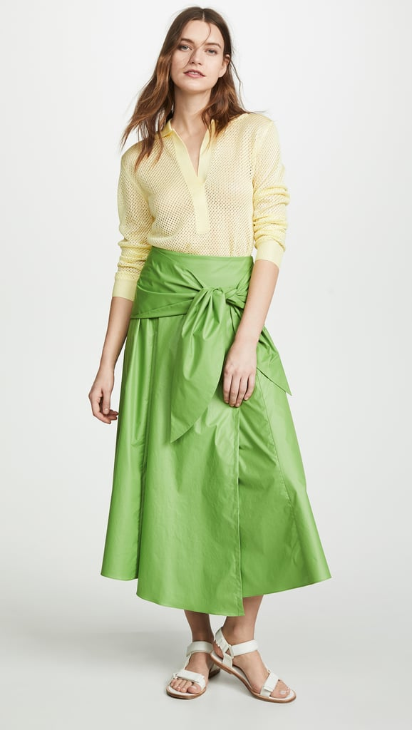 Tibi Wrap Skirt