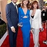 Susan Sarandon's SAG Awards dates were her daughter Eva Amurri and son Jack Robbins.
