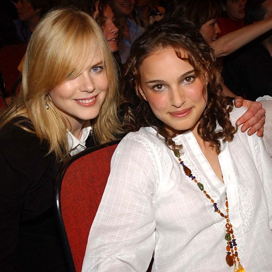 Natalie Portman got together with Nicole Kidman at the MTV Movie Awards in 2002.