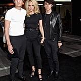 Pictured: Pamela Anderson, Brandon Lee, and Dylan Lee