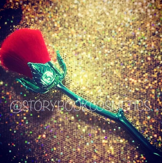 Storybook Cosmetics Beauty and the Beast Rose Makeup Brush