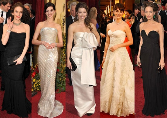 Photos of Angelina Jolie, Jessica Biel, Penelope Cruz, Kate Winslet, Anne Hathaway on the Red Carpet at the 2009 Oscars