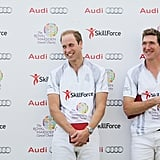 """Prince William Reveals It Was """"Good to Get Out of the House"""" For His Polo Match"""