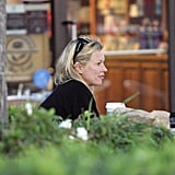 In June 2005, Kate Moss was in LA and stopped by a Coffee Bean and Tea Leaf.