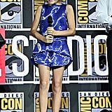 Pictured: Lia McHugh at San Diego Comic-Con.