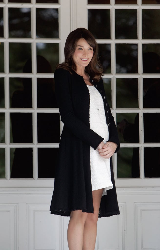 Carla Bruni's Chic, Tailored Look