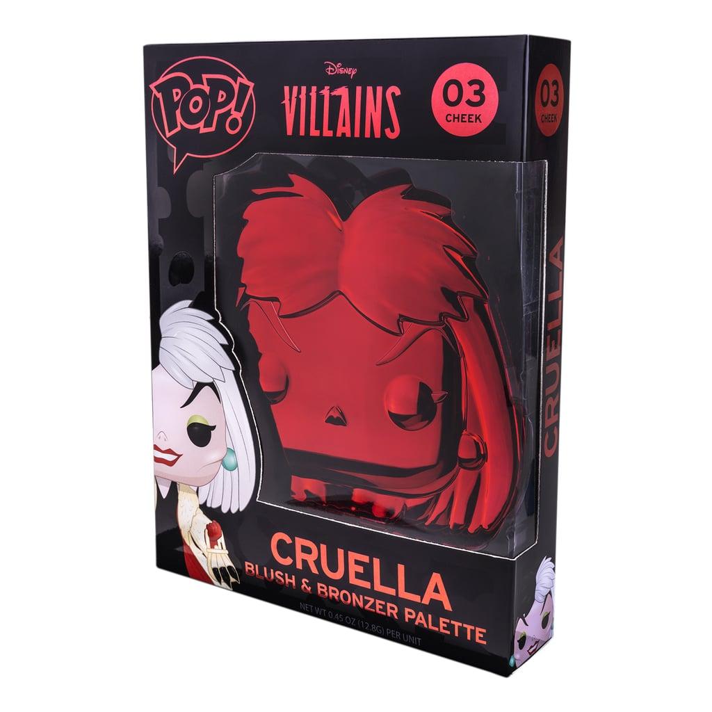 Funko x Disney Villains Cruella Blush and Bronzer Palette