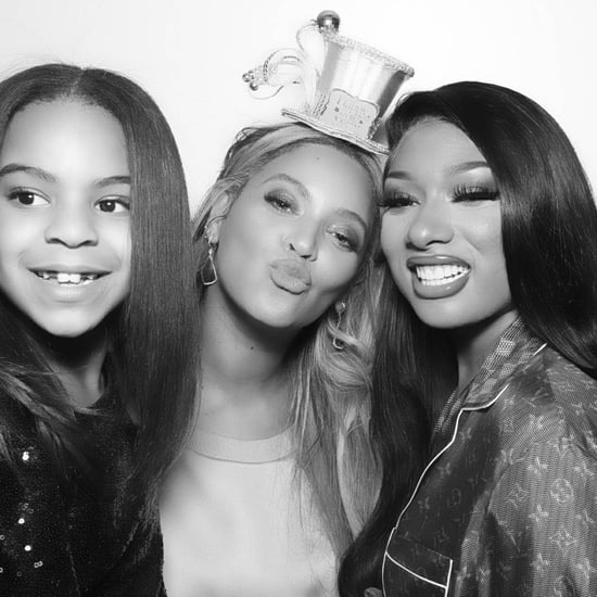 Beyoncé Photo with Blue Ivy and Megan Thee Stallion