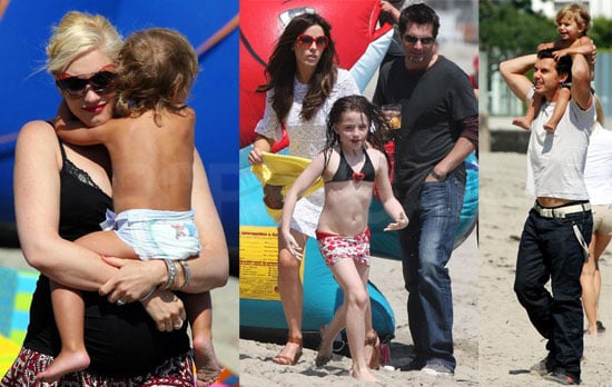 Photos of Kingston Rossdale's Second Birthday Party at the Beach