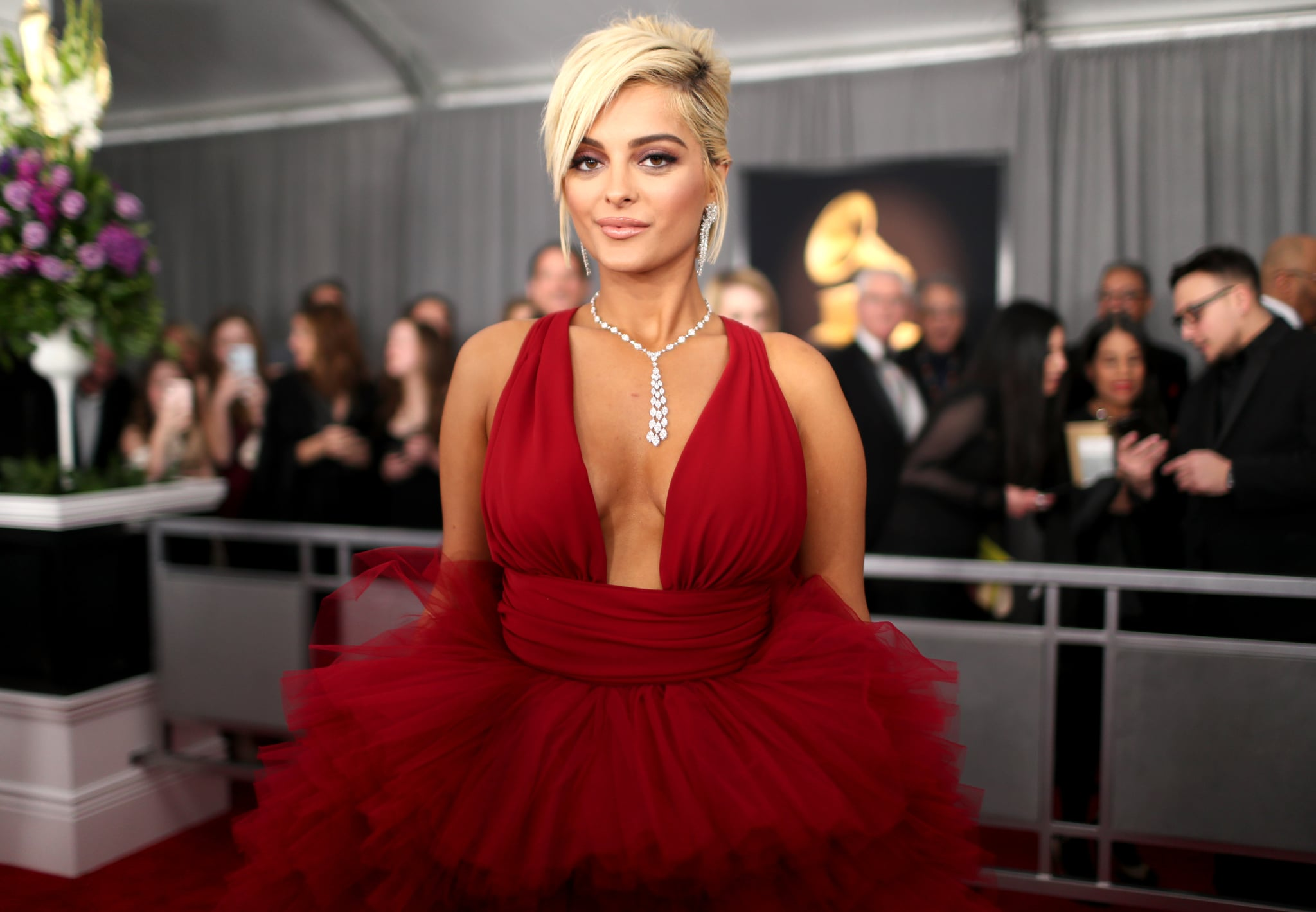 LOS ANGELES, CA - FEBRUARY 10:  Bebe Rexha attends the 61st Annual GRAMMY Awards at Staples Centre on February 10, 2019 in Los Angeles, California.  (Photo by Rich Fury/Getty Images for The Recording Academy)