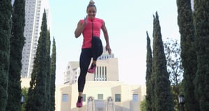 This Fitness Trainer Uses the World as Her Gym
