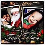 Her children, Monroe and Moroccan, celebrated their first Christmas in 2011.
