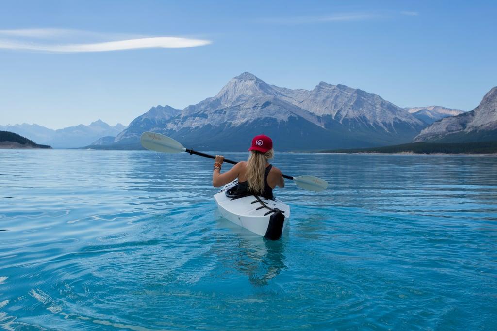 Go canoeing or kayaking.