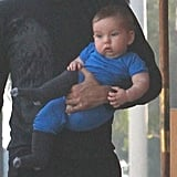 Natalie Portman's son Aleph Millepied is too cute.
