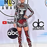 2018: She Showed Up to the Show Looking Like a Disco Ball