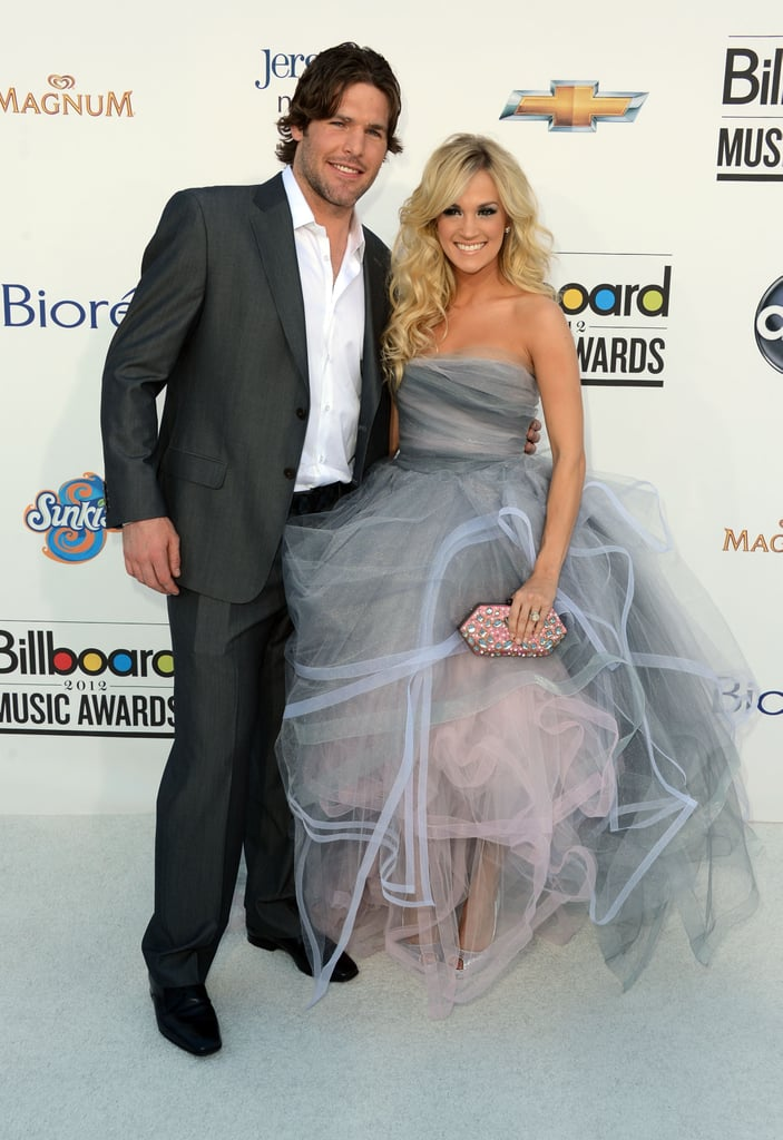 Carrie Underwood Poses With Husband Mike Fisher at the Billboard Music Awards