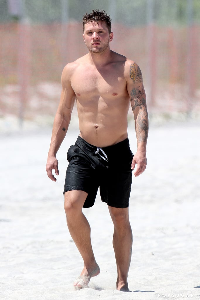 No amount of passing time can shake our crush on Ryan Phillippe. From his sexy movie moments — thanks for the memories, Sebastian Valmont — to his offscreen beach days and casual shirtless neighborhood jogs, we might be more attracted to him than ever.The 43-year old Shooter star gives glimpses of his arms and abs on Instagram, and they never fail to get us a little choked up. Thankfully, there's tons more where that came from. Look through now to see what we mean.      Related:                                                                                                           The 32 Types of Swag Ryan Phillippe Has