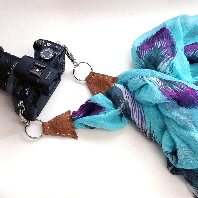 Scarf Camera Strap | DIY Stocking Fillers | POPSUGAR Smart